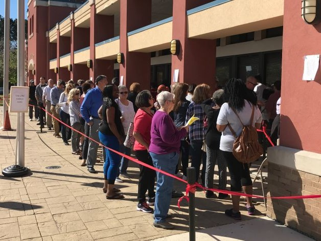 With Hot Governor's Race, Early Voting Surges in Georgia