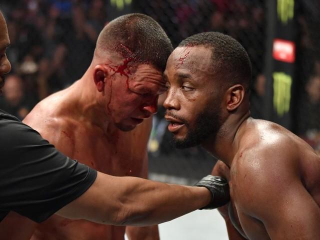 Edwards shares advice Diaz gave him at UFC 263