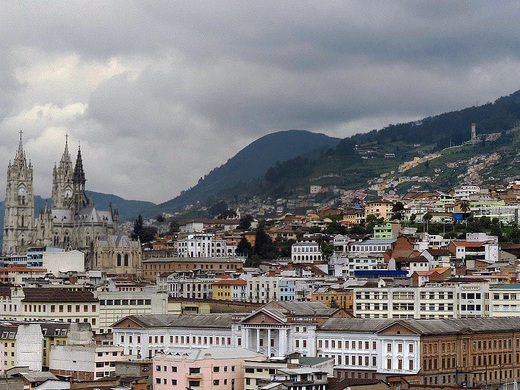 Copa: San Francisco – Quito, Ecuador. $424. Roundtrip, including all Taxes