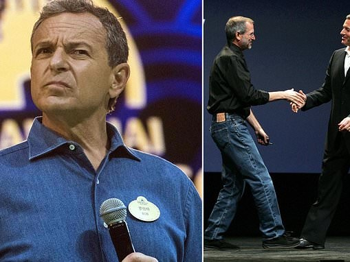 Bob Iger says Disney would have discussed merger with Apple if Steve Jobs were still alive
