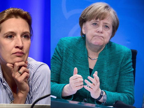 Verboten In Thuringia - Merkel's CDU Feels AfD's Heat