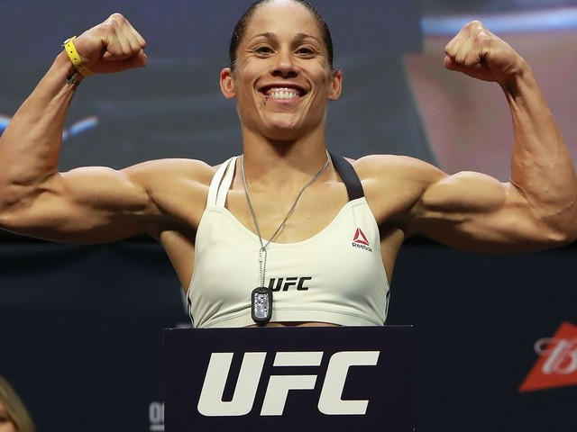 UFC Fresno's Liz Carmouche claims she was told she'd be fighting for the flyweight title