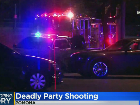 1 Killed After Gunfire Rings Out In Parking Lot Following Party In Pomona