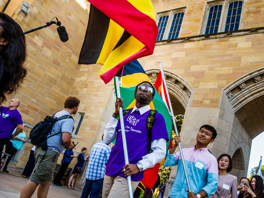 Study Abroad Participation up to Sixth in Nation; St. Thomas Ranks Second in International Enrollment for Minnesota Doctorate Schools