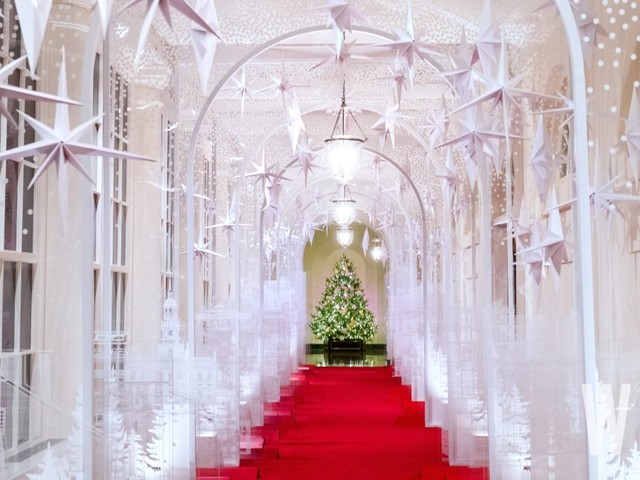 The 2019 White House Christmas Decorations Are Up, but I Really Just Miss the Blood Trees