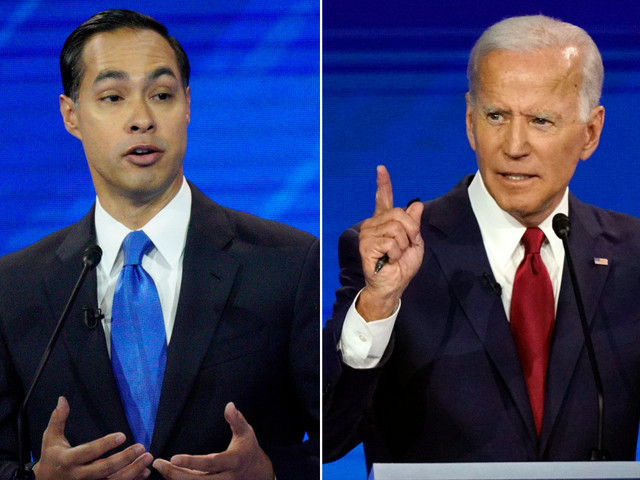 Julian Castro under fire for questioning Joe Biden's memory