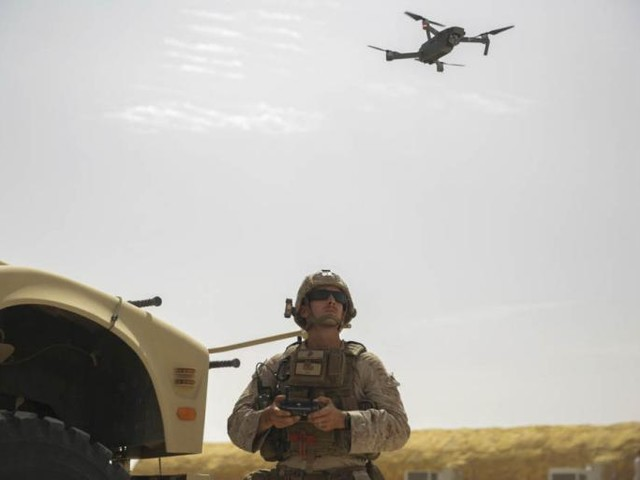 The U.S. Military Shouldn't Use Commercial Drones