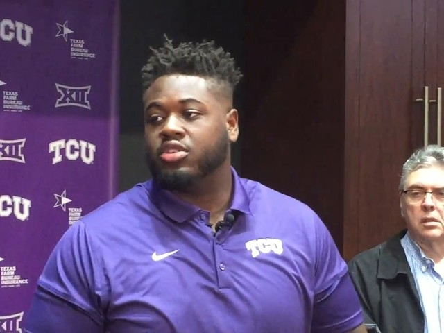 TCU's Kellton Hollins on Oklahoma: We have to play our style of football