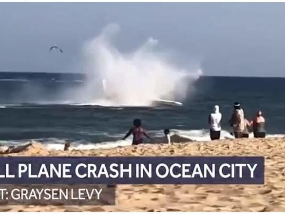 Watch: Plane Crash In Ocean City [Photos & Video]
