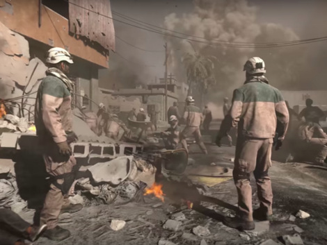 """New """"Call Of Duty"""" Video Game Encourages Support For The White Helmets"""