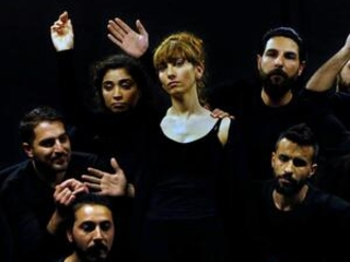 Syrians act in 'playback theater' to heal war trauma