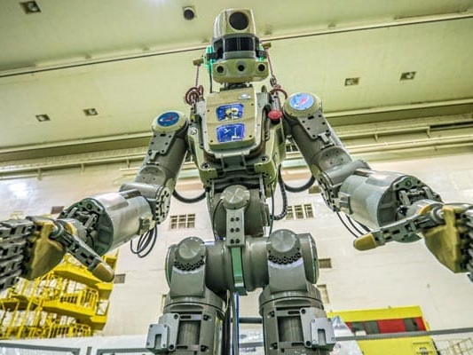 """Russia To Send """"Fedor"""" Its First Humanoid Robot Into Space"""