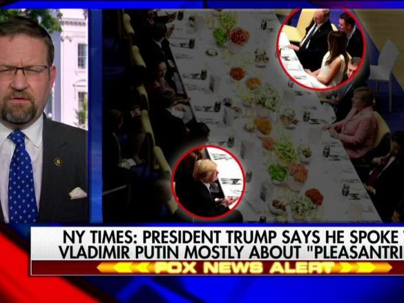Donald Trump Mainstream Media Bias Sebastian Gorka Loves Russia Stories