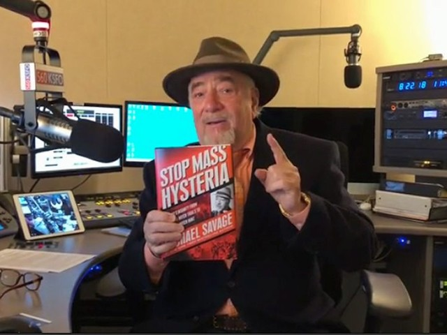 Inside the Beltway: Michael Savage fires off new book on mass hysteria and the 'Trump Witch Hunt'