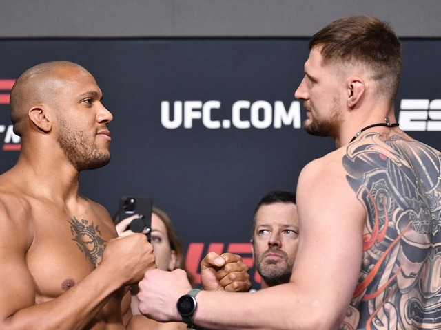 UFC Vegas 30: Gane vs. Volkov live results, discussion, PBP