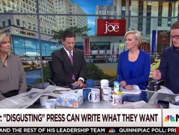 Joe Scarborough on 'Morning Joe': Trump Attacks on Press Like Mao or Stalin