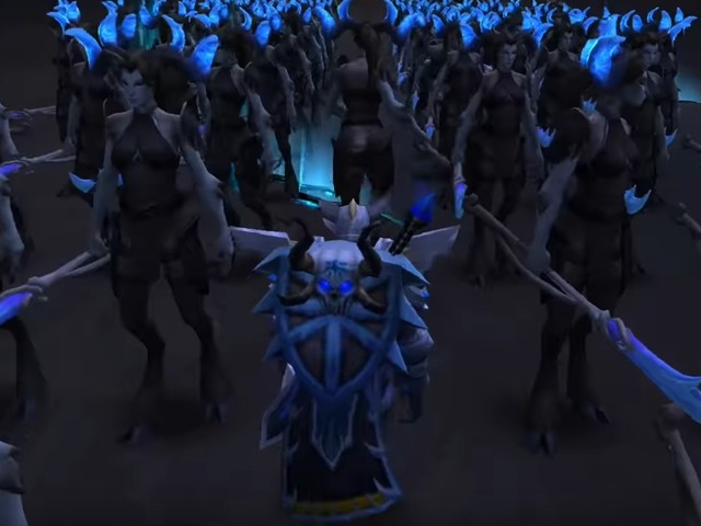 This is Rextroy! 300 NPC Minions Led into Battle