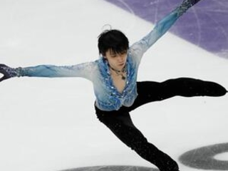 Hanyu leads in Rostelecom Cup short program