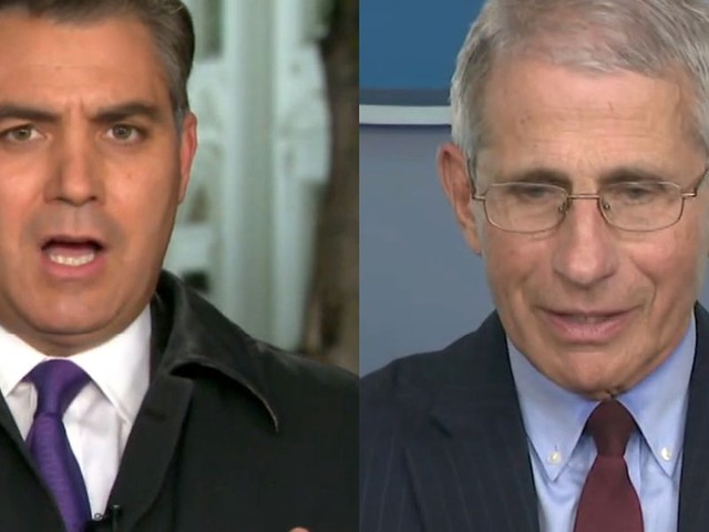 Jim Acosta tries to get Dr. Fauci to blame Trump for coronavirus deaths, but he dismantles his question instead