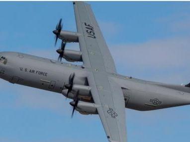 First C-130J Super Hercules arrives in France