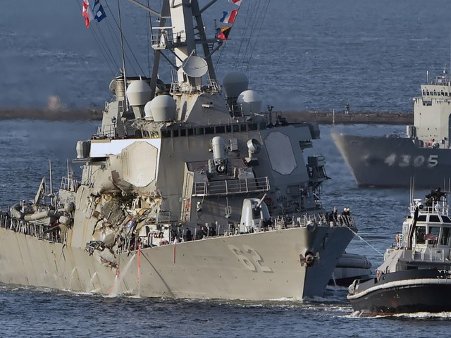 New details emerge in US destroyer collision investigation