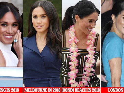 Meghan Markle's hair stylist says he wanted to make her look accessible like a 'people's princess'
