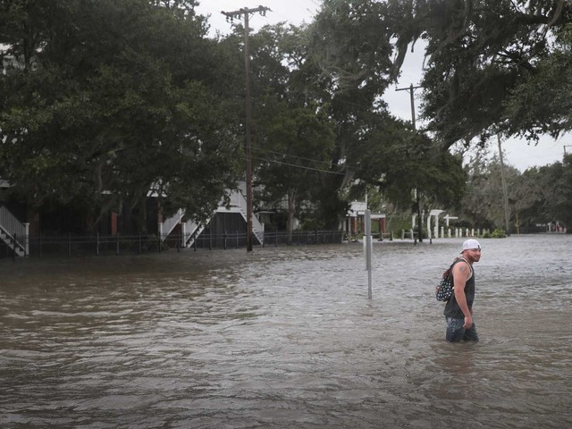 'Don't let your guard down': Officials say flooding concerns remain as Barry pushes inland