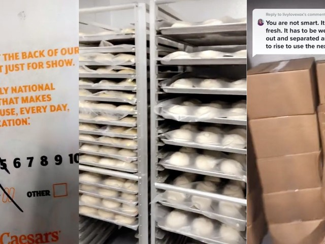 'Sh*t's frozen': Worker allegedly exposes Little Caesars for frozen pizza, despite claims on packaging