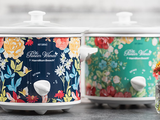 TWO Pioneer Woman 1.5-Quart Slow Cookers ONLY $19.88 (Reg $45) – That's $9.94 Each!