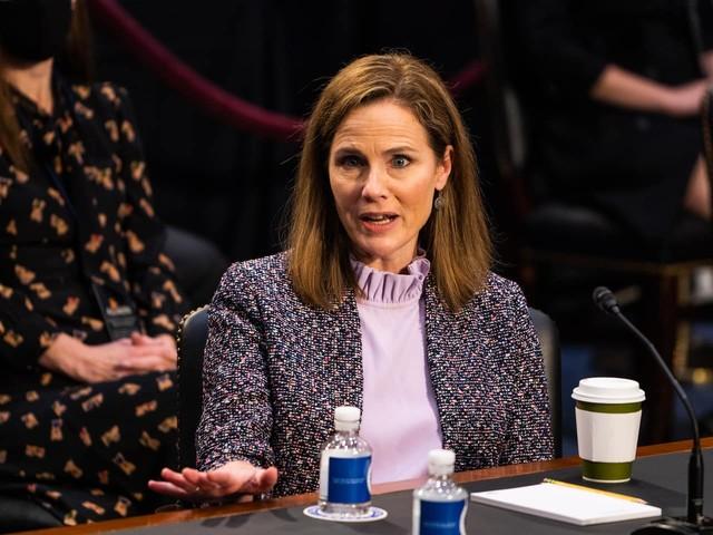 Senators engage in bitter floor feud over Barrett nomination to Supreme Court