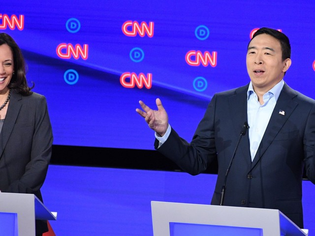 Debates are great for candidates like Andrew Yang but bad for candidates like Joe Biden