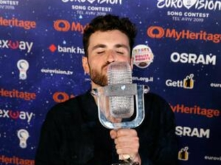 Royal praise for Dutch singer's victory at flashy Eurovision