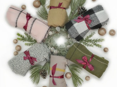 Get three blanket scarves for just $8.66 each, shipped!!