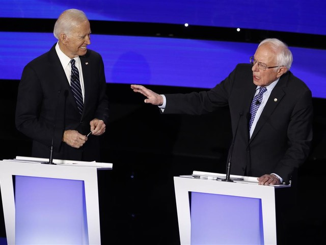 Biden: Sanders Campaign Is Circulating 'Doctored' Video