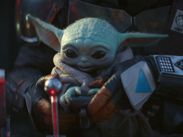 George Lucas met Baby Yoda, and we can't handle it