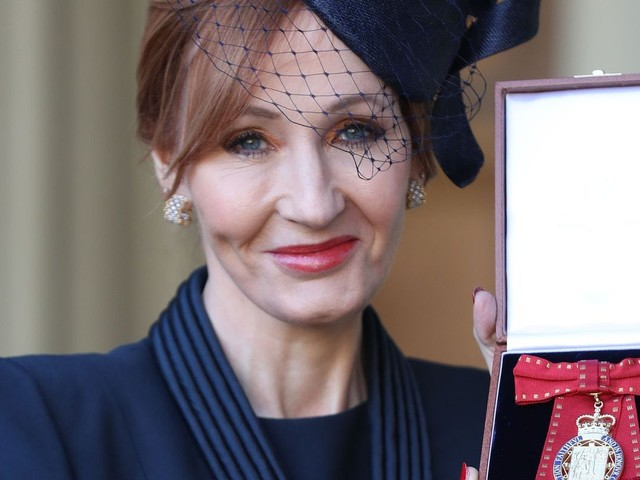 J.K. Rowling named royal Companion of Honor by Prince William