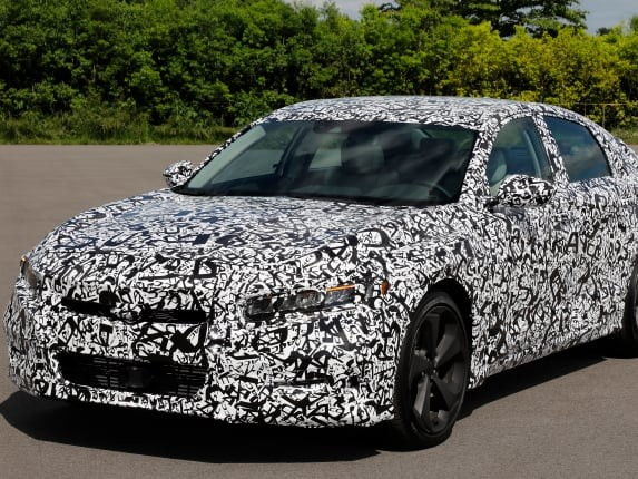 2018 Honda Accord to Get Turbocharged Engines