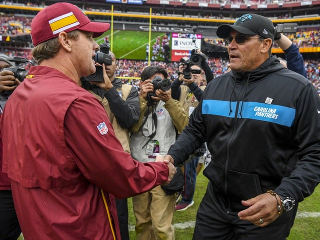 Ron Rivera agrees to become Redskins' next coach, begins work on assembling staff
