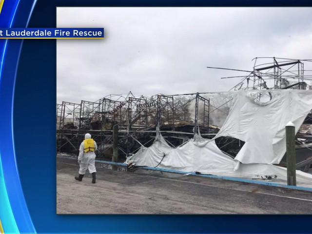 Fire Destroys 2 Yachts Worth $24 Million In Fort Lauderdale