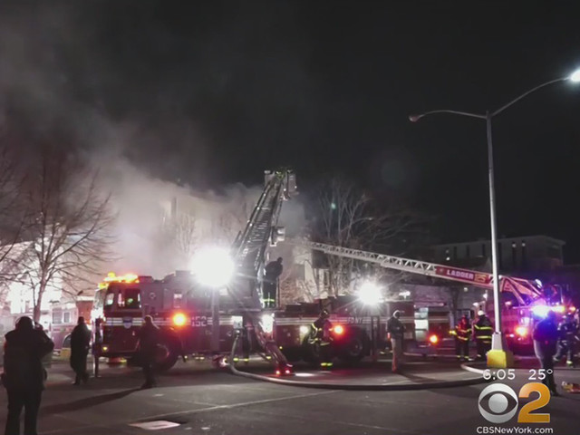 84-Year-Old Woman Killed In Queens Fire; 5 Others Injured