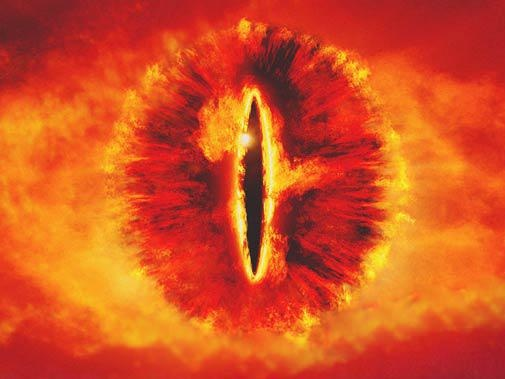 Rare genetic condition gives man Eye of Sauron look