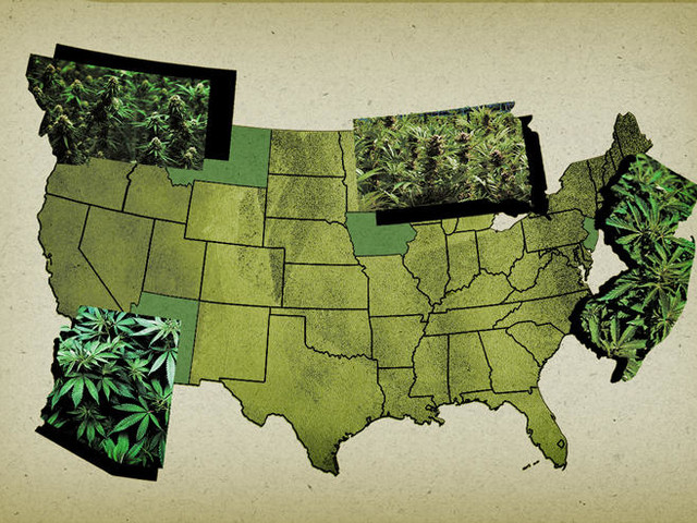 Seeing green: Land rush is on in latest states to legalize cannabis