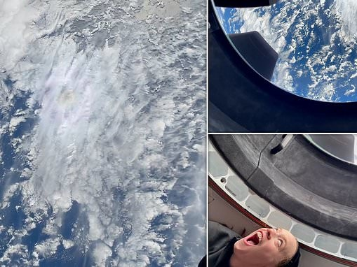 SpaceX shares moment Inspiration4 all-civilian crew saw Earth from space for the first time