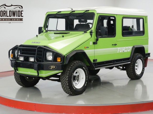 Rare Rides: A 1990 UMM Alter II, Lots of Lime