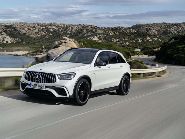 The 2022 Mercedes-AMG GLC 63 S SUV is finally getting a US release