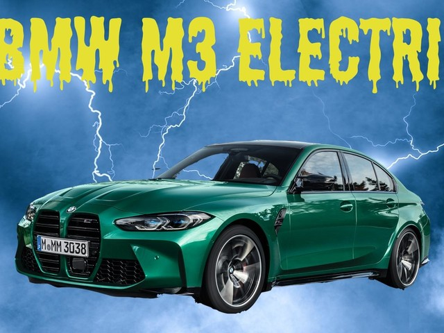 The Next-Gen BMW M3 Will Probably Be Electric