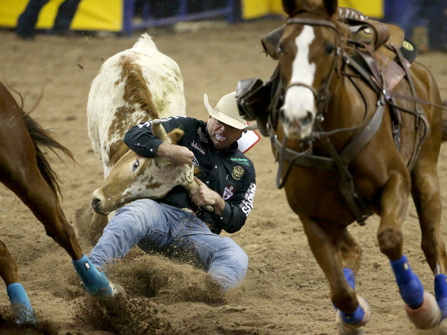 2019 NFR Las Vegas 3rd go-round results — VIDEO