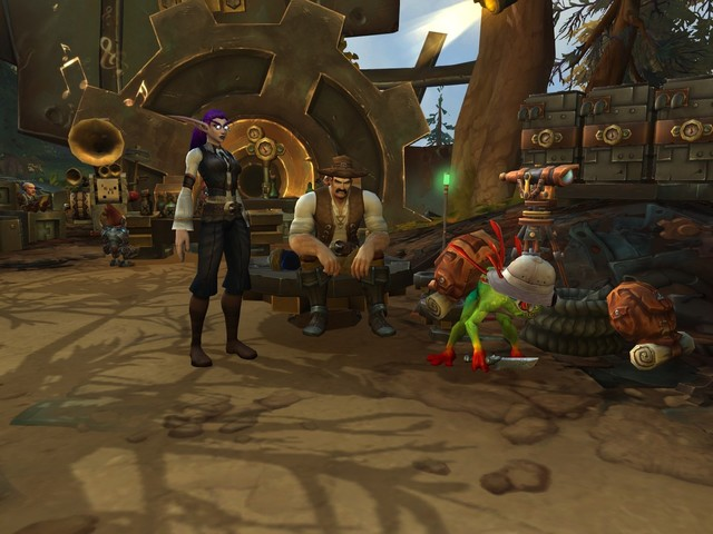 Today in Nazjatar and Mechagon for August 17 - Fungarian Furor, Explorer's League