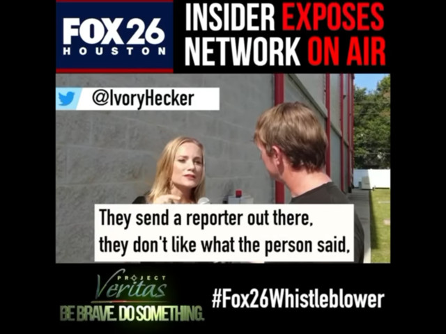 Fox 26 Houston reporter accuses network of 'muzzling' her & others, teases release of recordings from Project Veritas