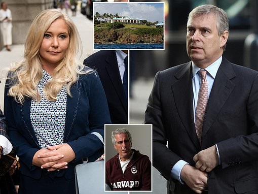 """Prince Andrew 'grabbed Virginia Roberts' bottom on her during visit to """"paedophile island"""""""